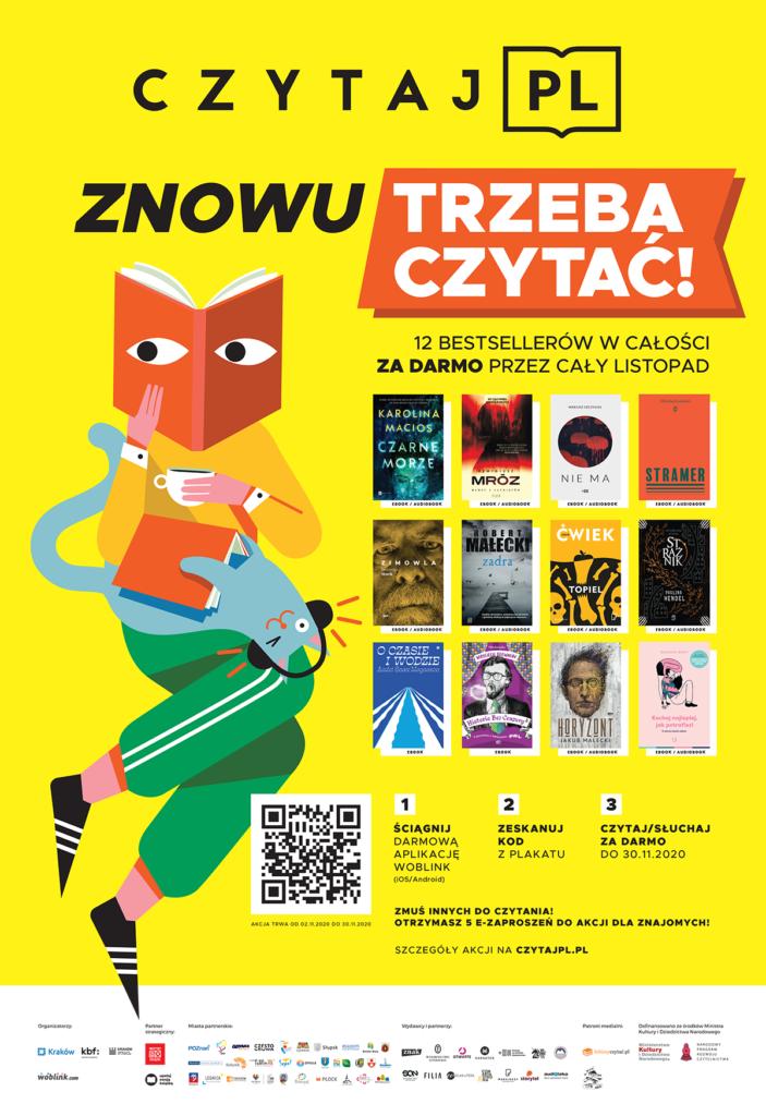 plakat czytaj pl 2020 listopad